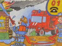 """Инсценировка по пожарной безопасности """"Кошкин дом"""""""