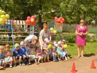 День защиты детей и тренировка по ГО
