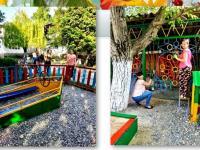 Благоустройство территории  детского сада - дело совместное!!!